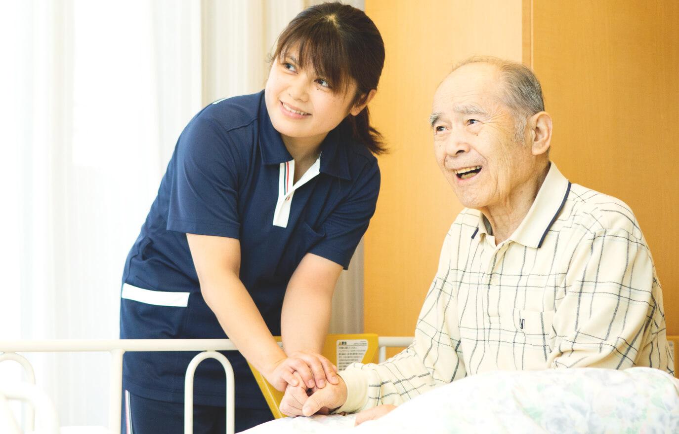 「終の棲家にやすらぎと感動を。」特別養護老人ホーム ゆうあいの里大同